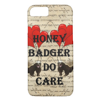 Honey badger do care iPhone 7 case