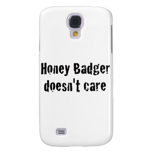 honey badger doesn't care galaxy s4 cases