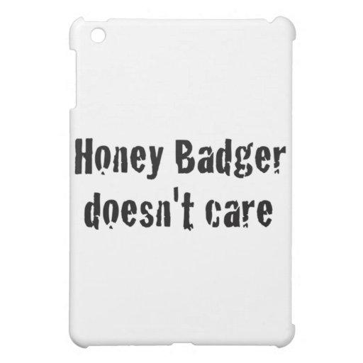 honey badger doesn't care iPad mini cases