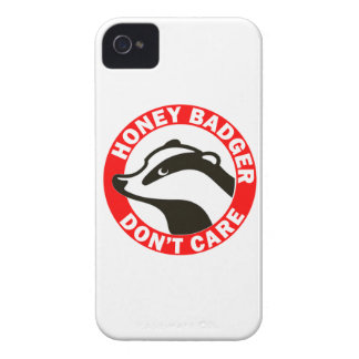 Honey Badger Don t Care iPhone 4 Covers