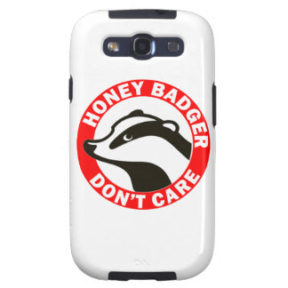 Honey Badger Don t Care Galaxy SIII Case