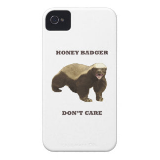 Honey Badger Don t Care iPhone 4 Case-Mate Case