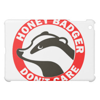 Honey Badger Don t Care Cover For The iPad Mini