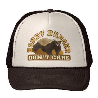 Honey Badger Don t Care Mesh Hats