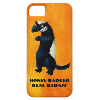 Honey Badger don't care! iPhone 5/5S Covers