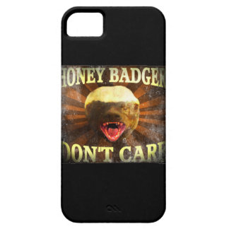 Honey Badger Don't Care Faded Design iPhone 5 iPhone 5 Cases