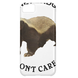Honey Badger Don't Care Internet Memes Gifts iPhone 5C Cover