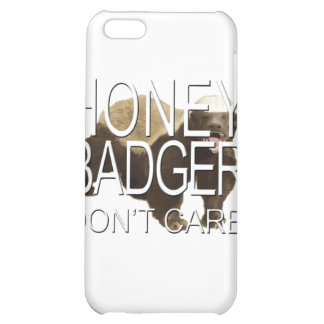 Honey Badger Don't Care iPhone 5C Cases