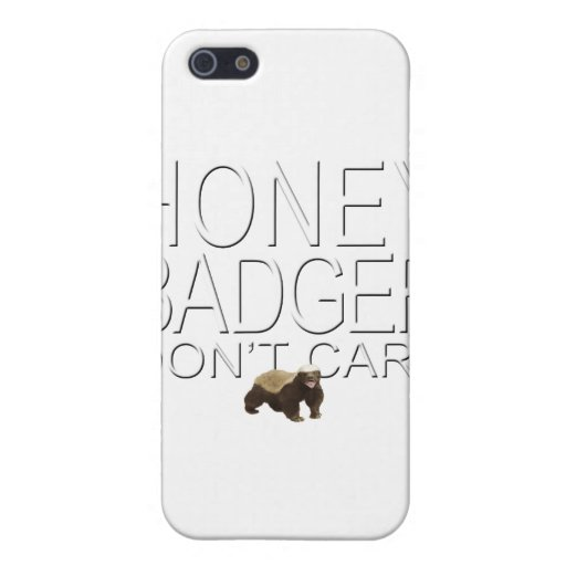 Honey Badger Don't Care iPhone 5 Case