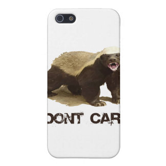 Honey Badger Don't Care Cases For iPhone 5