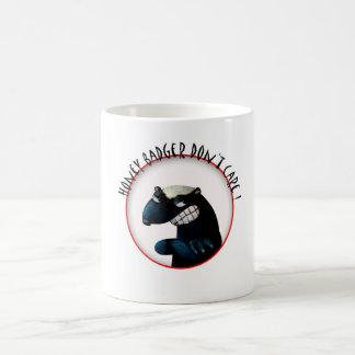 Honey Badger don't Care! Coffee Mugs