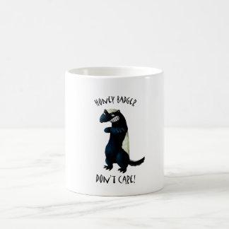 Honey Badger don't care! Mugs