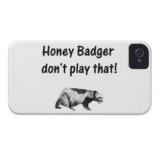 honey badger don't play that iPhone 4 cases