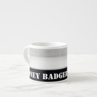Honey badger espresso mug