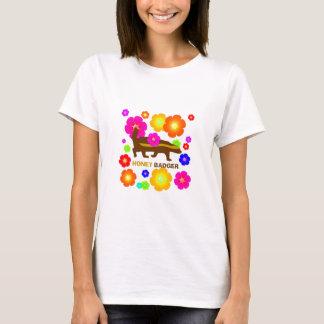 honey badger flowers T-Shirt