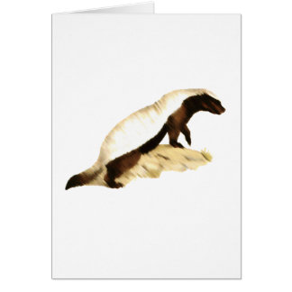 honey badger greeting cards