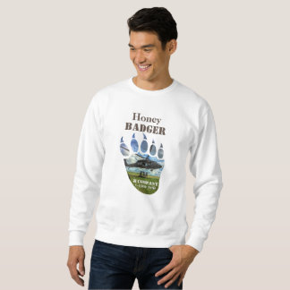 Honey Badger &  Helicopter Sweatshirt