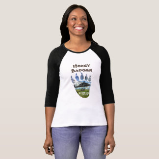 Honey Badger &  Helicopter T-Shirt