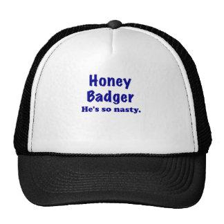 Honey Badger, Hes So Nasty Mesh Hats