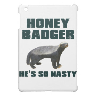 Honey Badger He's So Nasty Cover For The iPad Mini