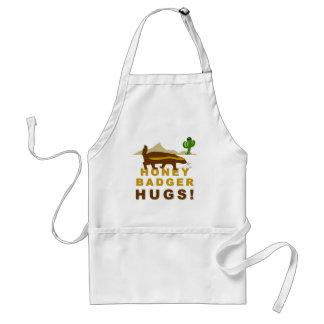 Honey Badger Hugs Apron