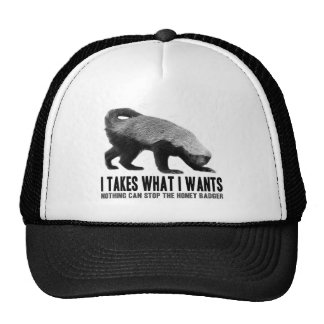 Honey Badger - I Takes What I Wants Cap