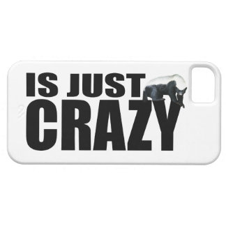 Honey Badger Is Just Crazy iPhone 5 Covers