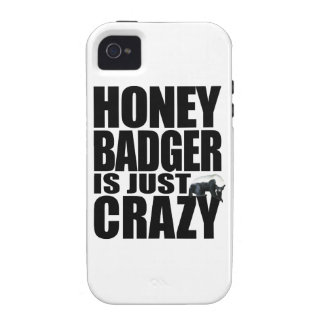 Honey Badger Is Just Crazy iPhone 4 Covers