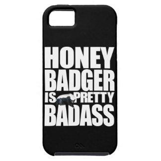Honey Badger Is Pretty Badass Tough iPhone 5 Case