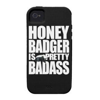 Honey Badger Is Pretty Badass iPhone 4 Case