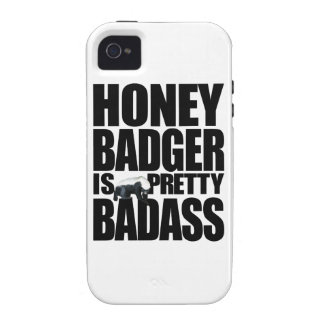 Honey Badger Is Pretty Badass Case-Mate iPhone 4 Cover