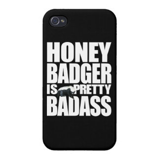 Honey Badger Is Pretty Badass Cases For iPhone 4