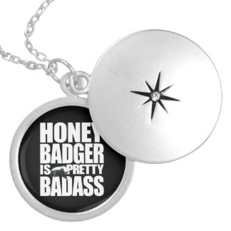 Honey Badger Is Pretty Badass Necklace