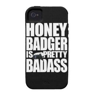 Honey Badger Is Pretty Badass Tough™ iPhone 4 Case
