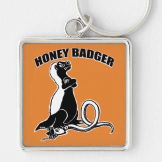 Honey badger key ring