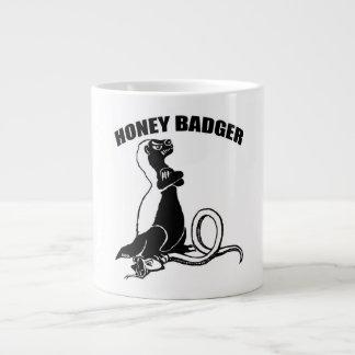 Honey badger large coffee mug