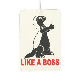 Honey badger, like a boss