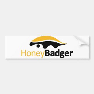 Honey Badger Logo Bumper Sticker