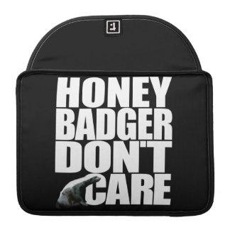 "Honey Badger Macbook Pro 13"" Rickshaw Flap Sleeve MacBook Pro Sleeve"
