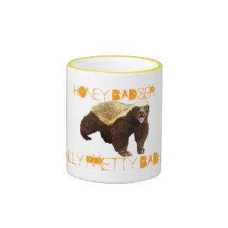 Honey Badger Ringer Coffee Mug