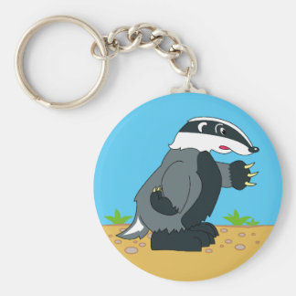 HONEY BADGER OR NOT KEY RING