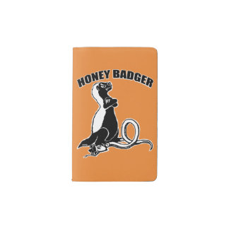Honey badger pocket moleskine notebook