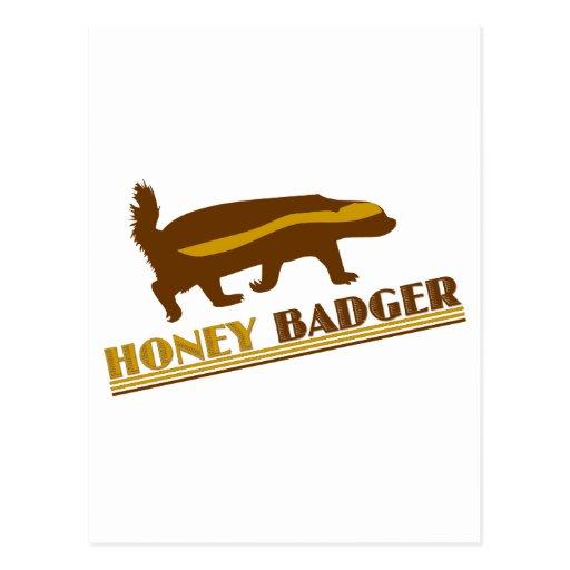 Honey Badger Postcards