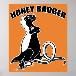 Honey badger poster