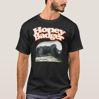 Honey Badger Ready to Pounce! T-Shirt