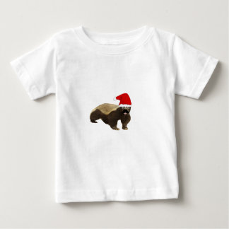 Honey Badger Santa Funny Christmas T Shirts