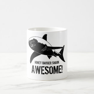 Honey Badger Shark Awesome! Coffee Mug