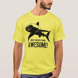 Honey Badger Shark Awesome! T-Shirt