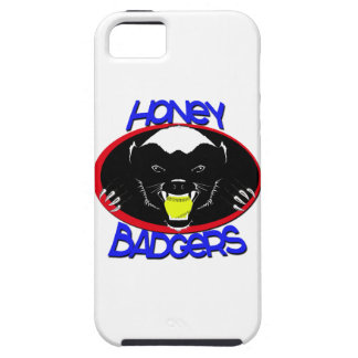 Honey Badger Softball Iphone 5 Case For The iPhone 5