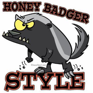 HONEY BADGER STYLE PHOTO SCULPTURES